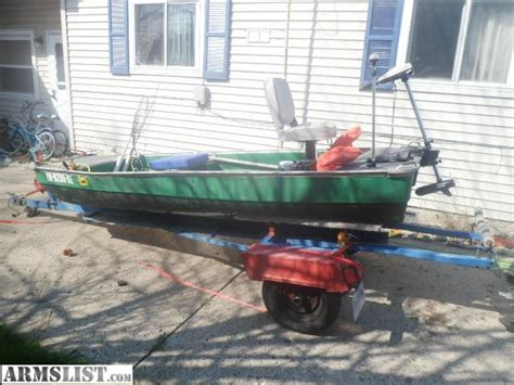 coleman 12 foot jon boat armslist for sale trade 12 foot john boat w trailer and