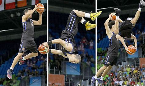Mba Flight Basketball by 2016 Olympics Basketball Players Fly At Us Spain