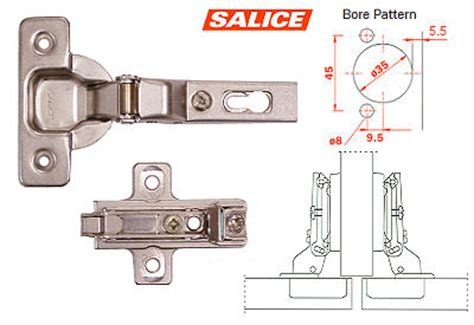 cup hinge template salice america inc c2p9g99 bar3r39 salice concealed