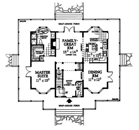 southern floor plans elliot southern home plan 049d 0006 house plans