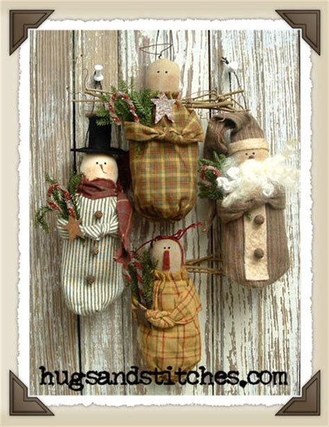 free primitive christmas patterns country crafts and