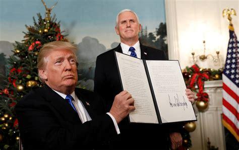 donald trump recognize jerusalem trump declares jerusalem as israel s capital plans to