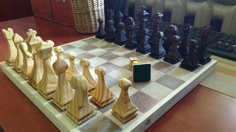 bandsaw chess set  chris  lumberjockscom