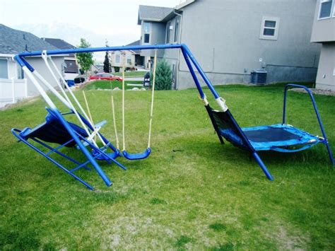 How To Get Rid Of A Broken Swingset