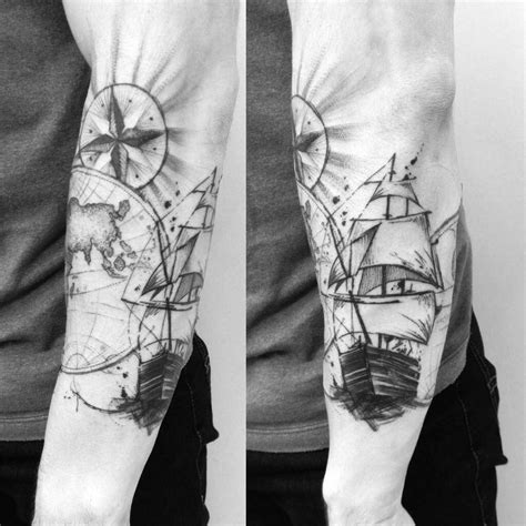 tattoo designs ships explorer ship on arm best ideas gallery