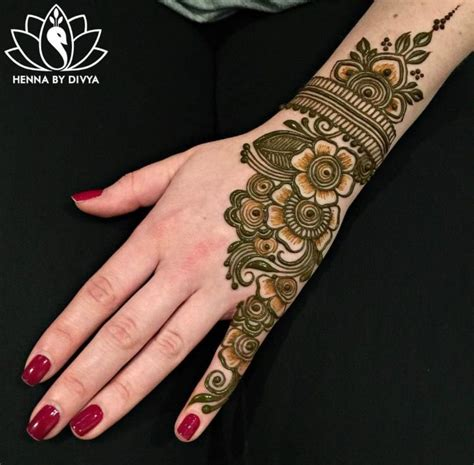 simple henna tattoo recipe henna mehndi side design simple recipes to cook