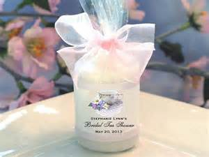 personalized bridal shower candle votive favors by