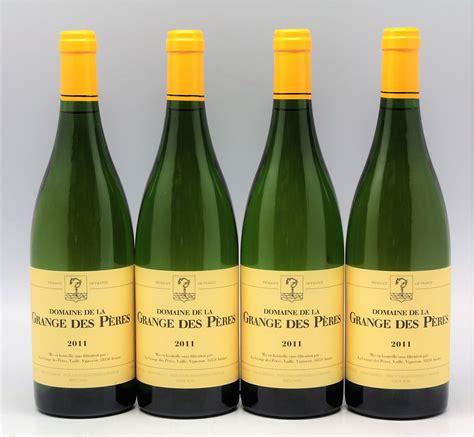 Grange Des Peres 2011 by Grange Des P 232 Res 2011 Blanc Vins Millesimes