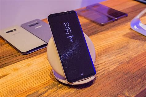 Samsung S8 Wireless Charging following tint widespread galaxy s8 wireless charging