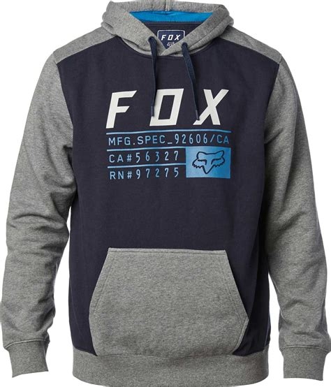 Fox Racing Diskors Mens Pullover Hoodies fox racing district 3 pullover hoodie fleece sweatshirt motocross hoody mens ebay