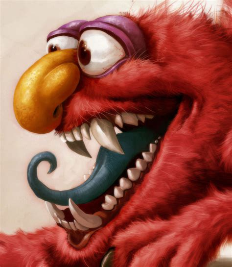 painting elmo elmo is a right by heckthor on deviantart