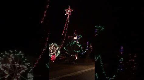 christmas light display denton md youtube