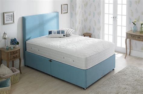 shire beds shire beds eco cosy 4ft 6 double divan bed