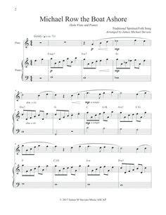 michael row the boat ashore noten klavier edelweiss trumpet piano solo trumpet and piano