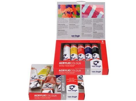 Gogh Acrylic Colour Basic Set 10x40ml royal talens