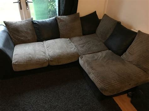 Snuggle Corner Sofa by Corner Sofa And Matching Cuddle Chair In Bootle