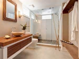 Vanity Bench Ikea Receveur De Galets Et Bambous Dans Salle De Bain Zen