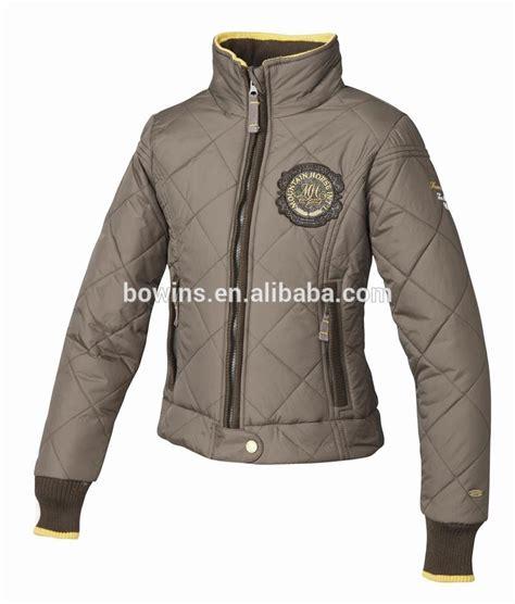 Jaket Ridding equestrian quilted jacket jacket
