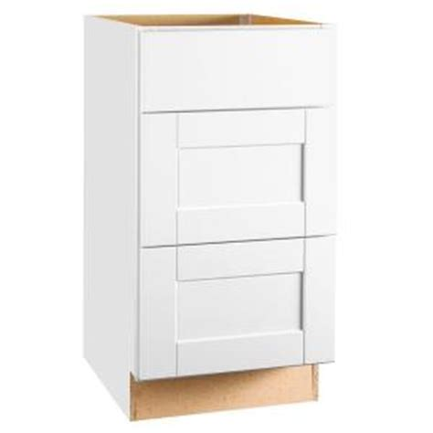 Hton Bay 1 Drawer Storage Cabinet by Hton Bay Shaker Assembled 18x34 5x24 In Drawer Base