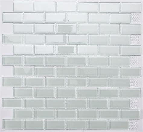 white subway glass mosaic tile for bathroom kitchen backsplash ebay