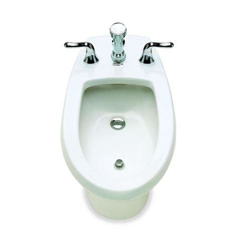 Bidet In american standard 5023002 14 1 2 in h white elongated bidet lowe s canada