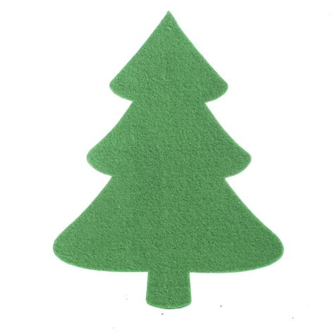 felties christmas tree cutout felt squares kids crafts