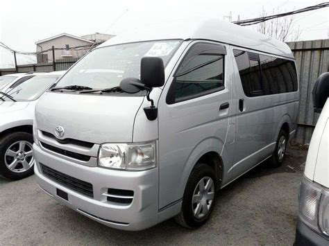 2008 Toyota Hiace For Sale 2008 Toyota Hiace Pictures 2 0l Gasoline Fr Or Rr
