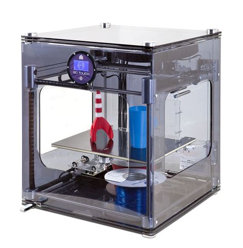 with this 3 d printer object creation at home finally available with this touch 3d printer