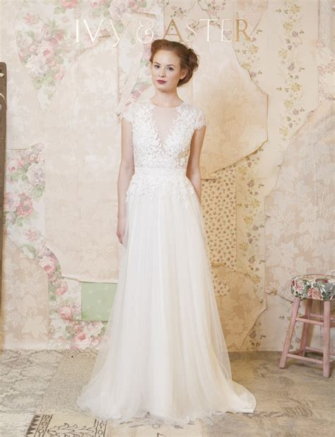 Vilia Lace Flare Dress 2016 wedding dresses aster collection