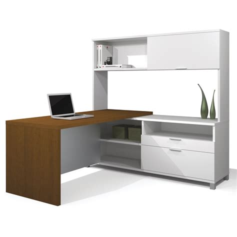 White L Shaped Office Desk Furniture Wonderful L Shaped Computer Desk With Hutch For Home Office Decoration Nu Decoration