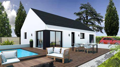 Prix Construction Maison Plain Pied by Construction Maison Plain Pied Pas Cher Finist 232 Re Et Morbihan