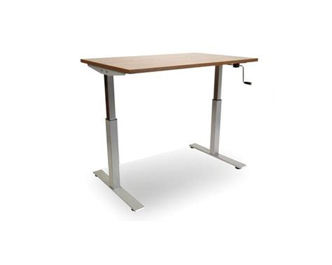 table standing standing desk classic crank adjustable standing desk table