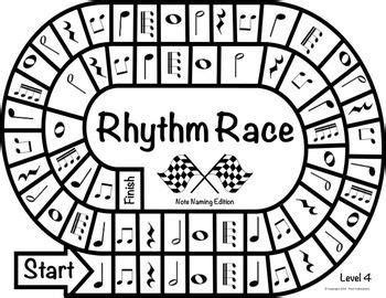 rhythm pattern games music centers rhythm race note naming edition level 4