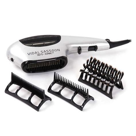 Vidal Sassoon Hair Dryer Attachments by Vidal Sassoon Brush Attachments Coms 3set