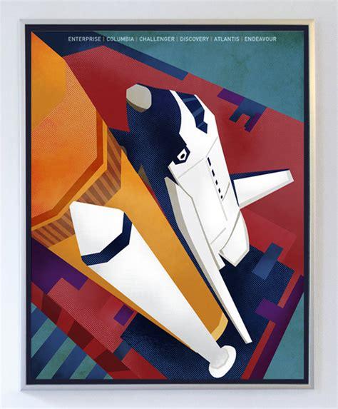nasa printable poster ink and sword nasa space shuttle launch pad art print poster