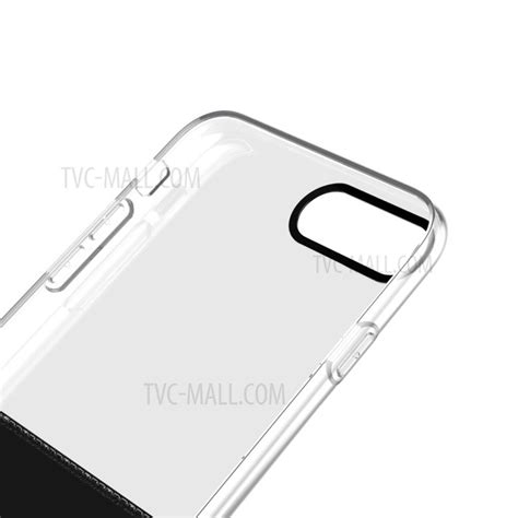 Baseus Half To Half Transparent Pctpu For Iphone 77s Original baseus half to half pc tpu hybrid cover for iphone 7 plus 5 5 black tvc mall