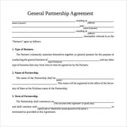 Corporate Partnership Agreement Template simple business partnership agreement corporate