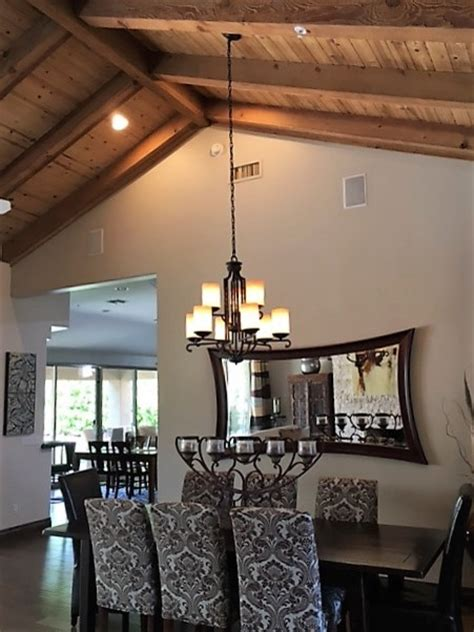 Pendant Lighting For Sloped Ceilings Hanging Rectangular Chandelier With 2 Wires On Sloped Ceiling