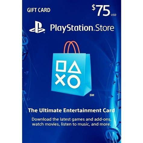 Gift Card Psn Chile - psn card 75 usa playstation store c 243 digo digital scheda up