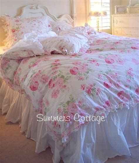 Pink Shabby Chic Bedding by Ashwell Shabby Chic Treasures Peony Pink Roses