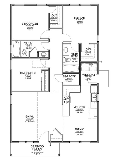 best 3 bedroom floor plan mariapngt page 11 home design dining room small 1 story