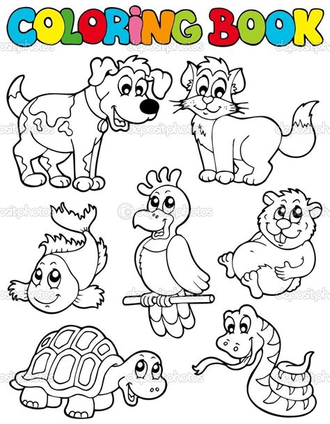 coloring pages pets animals coloring pictures of pet animals coloring pages now