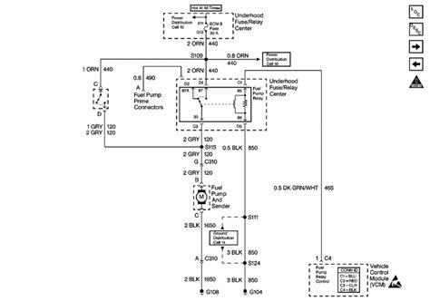 fuel pump reset switch    chevrolet