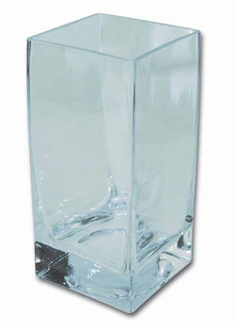 vasi vetro quadrati artemarket vaso quadrato oggetti da decorare vetro vasi e