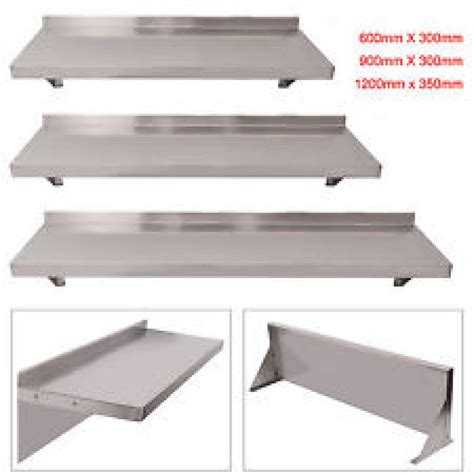 wall shelves stainless steel shelves for kitchen wall