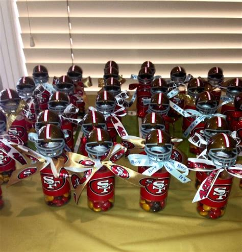 Football Baby Shower Favors by 49er Themed Baby Shower Favors Event Decor