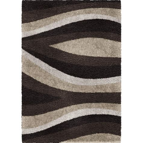black accent rugs orian rugs flume black taupe 7 ft 10 in x 10 ft 10 in