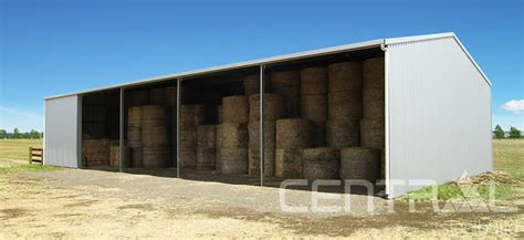 Hay Shed Cost by Hay Sheds Central Steel Build