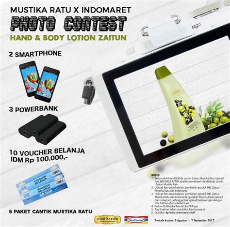 Mustika Ratu Zaitun Lotion Lotion Skc02313 and lotion zaitun photo contest