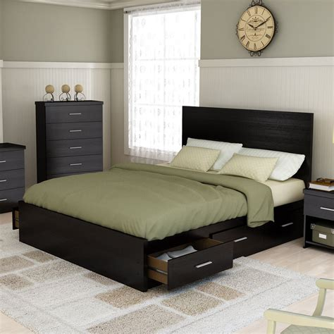 bedroom set with storage bed beds for sale hayneedle com